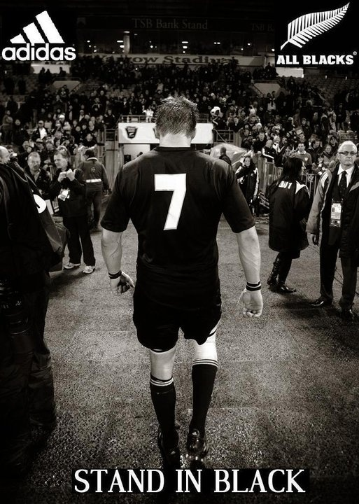 All Blacks : Richie McCaw  #rugby