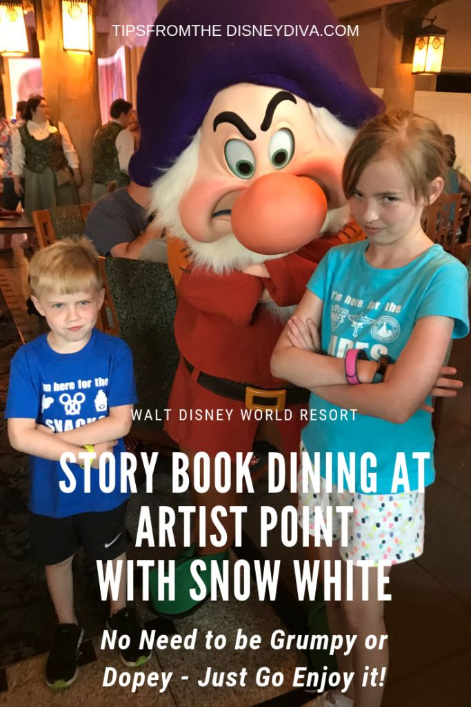 No Need to Be Grumpy or Dopey Just Go Enjoy Story Book
