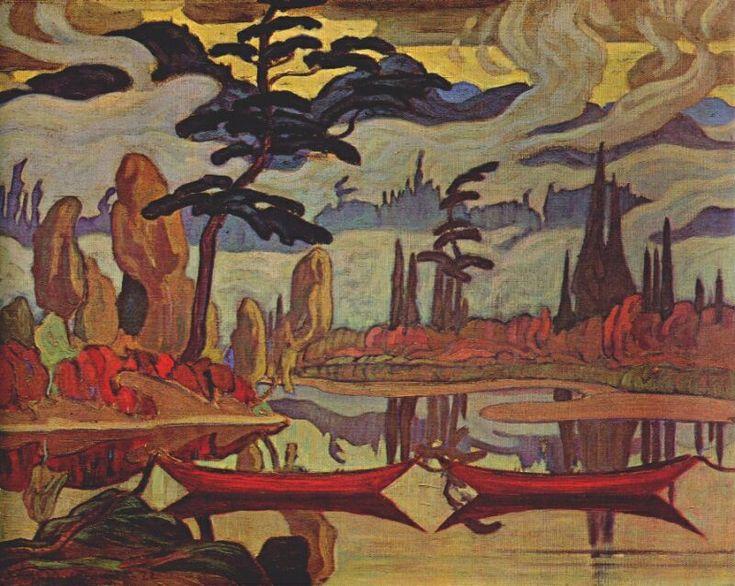 JEH-MacDonald-Mist-Fantasy-Sand-River-Algoma-c1922.