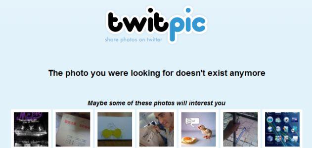 [追記あり] 速報: Twitpicが突然のサービス終了宣言、既に一部のデータはアクセス不可能に
