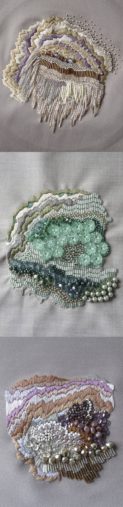 Anna Jane Searle. Embroidery Art.