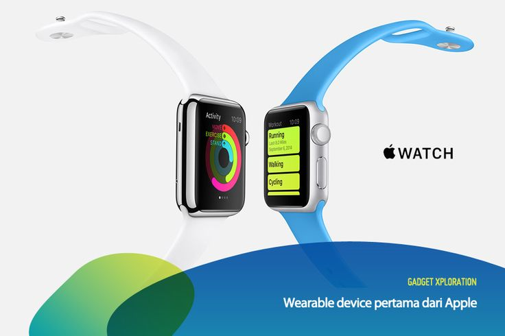 Watch yang ditunggu-tunggu ini sekarang udah resmi dirilis, guys! Selain terkoneksi dengan iPhone untuk mempermudah komunikasi, Watch juga bisa digunakan untuk membantu navigasi, memonitor kesehatan, dan juga saling kirim emoji buatan sendiri.   Repin kalau kamu pengen punya Watch! #GadgetXploration