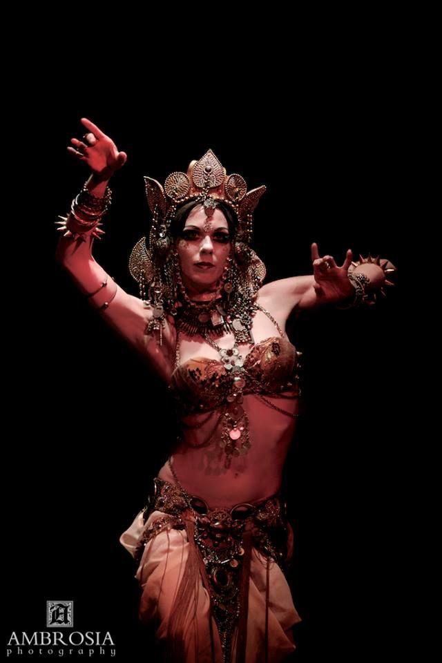NagaSita - tribal belly dance costume