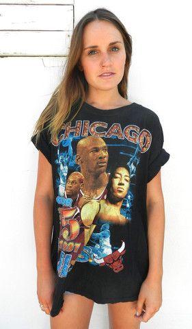Chicago Bulls T Shirt | BOSTLTD  #ChicagoBulls #vintage #tee