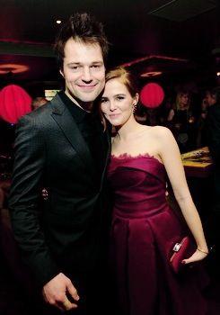Zoey Deutch and Danila Kozlovsky at Vampire Academy premiere, LA (Feb, 4th)