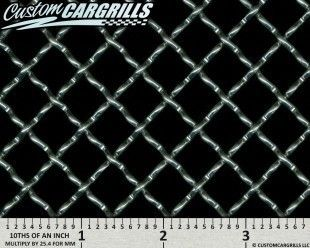 0.50 in. Woven Wire XXL Grill Mesh Sheets