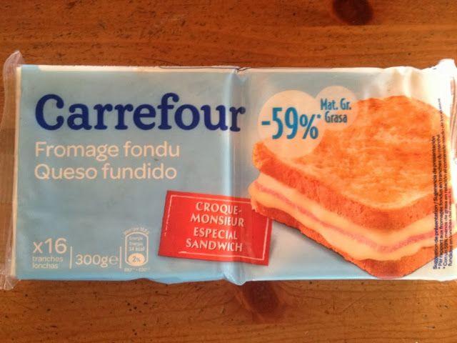 Queso Fundido -59% Materia Grasa (Carrefour) - 1 unidad 1 punto y 2 unidades 1,5 puntos