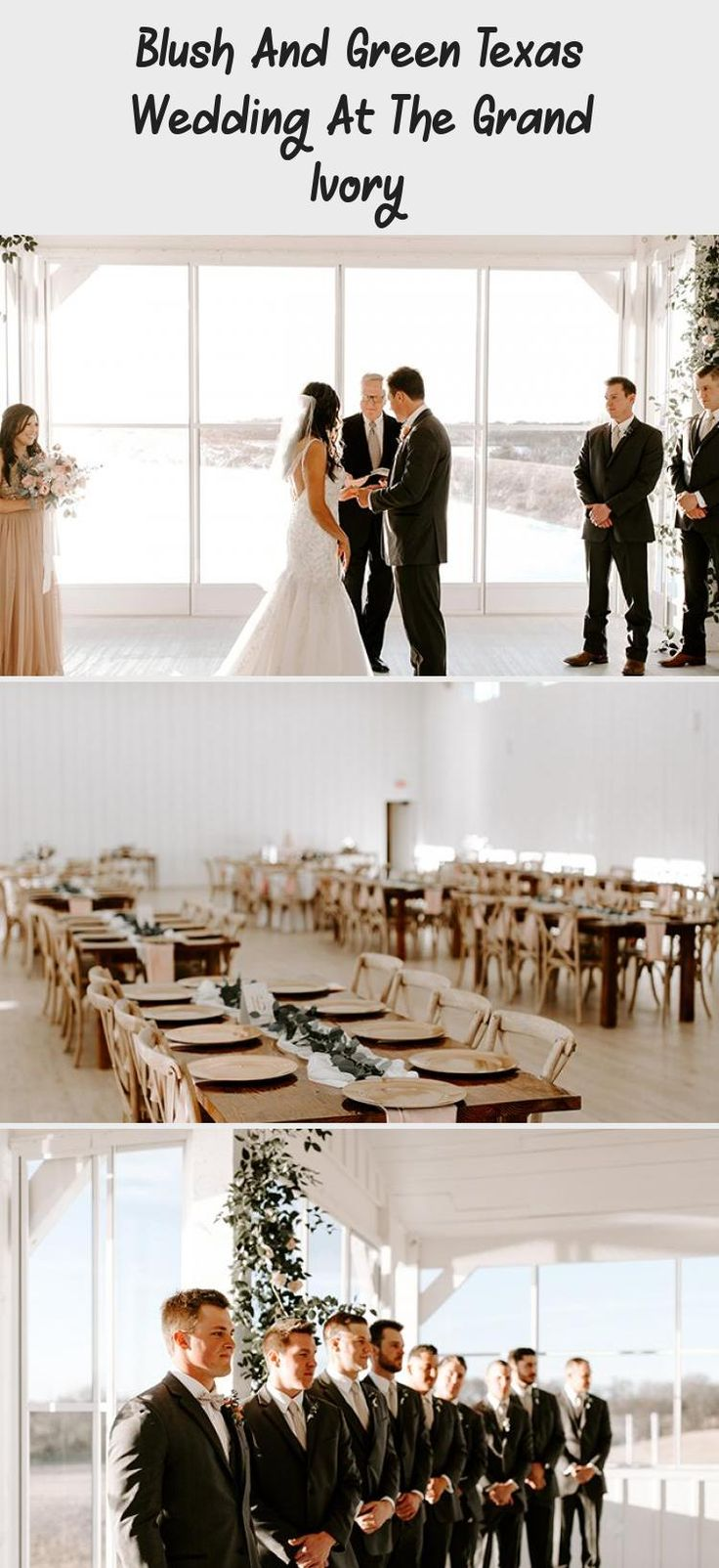 Blush and Green Texas Wedding at The Grand Ivory - Inspired By This #weddingplanner #BridesmaidDressesWithSleeves #GrayBridesmaidDresses #LilacBridesmaidDresses #CasualBridesmaidDresses #BridesmaidDresses2018