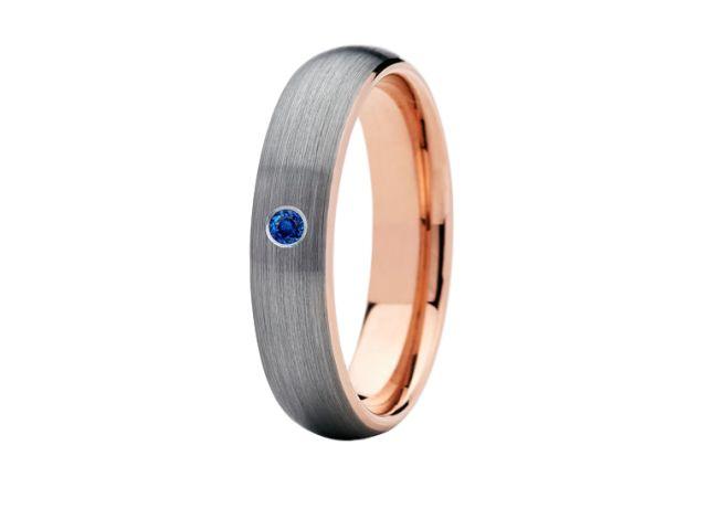 6mm Sapphire Wedding Ring