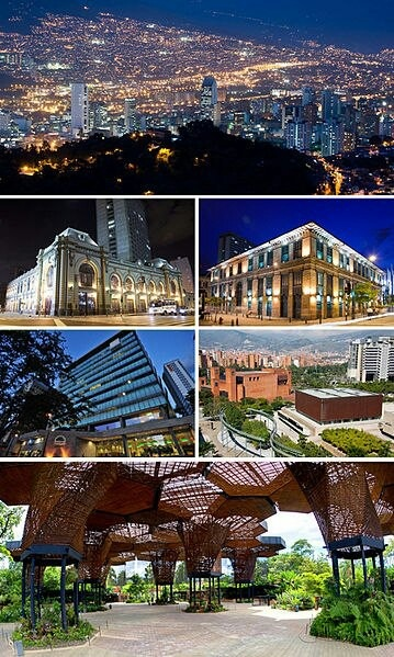 Medellin, Colombia - Friendly people, year-round mild temperatures, great food, great culture, great city