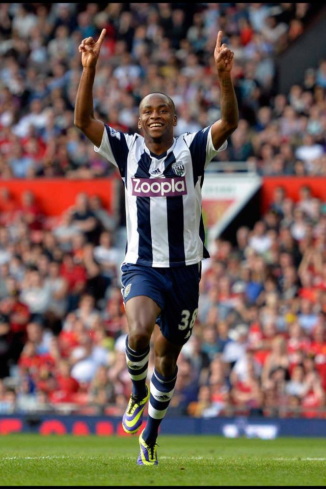 Saido Berahino. Dreams come true, scoring the winner at Old Trafford.