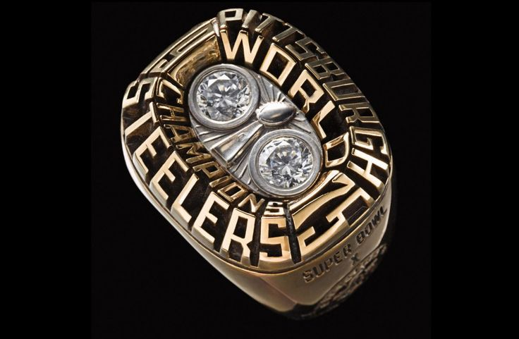 Super Bowl X - Pittsburgh Steelers | 48 Mind Blowing Photos Of Every Super Bowl Ring Ever