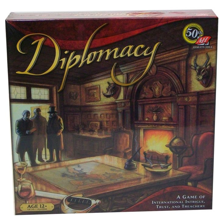 Avalon Hill Diplomacy Game