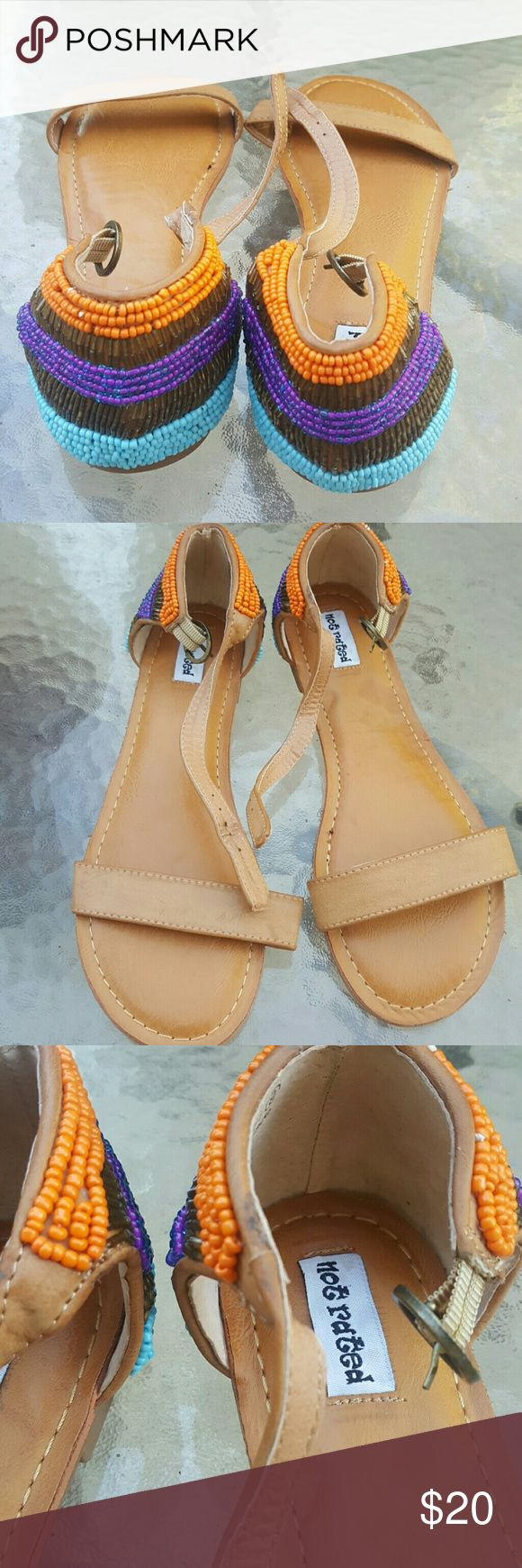 Not Rated Sandals In used condition no damage Not Rated Shoes Sandals