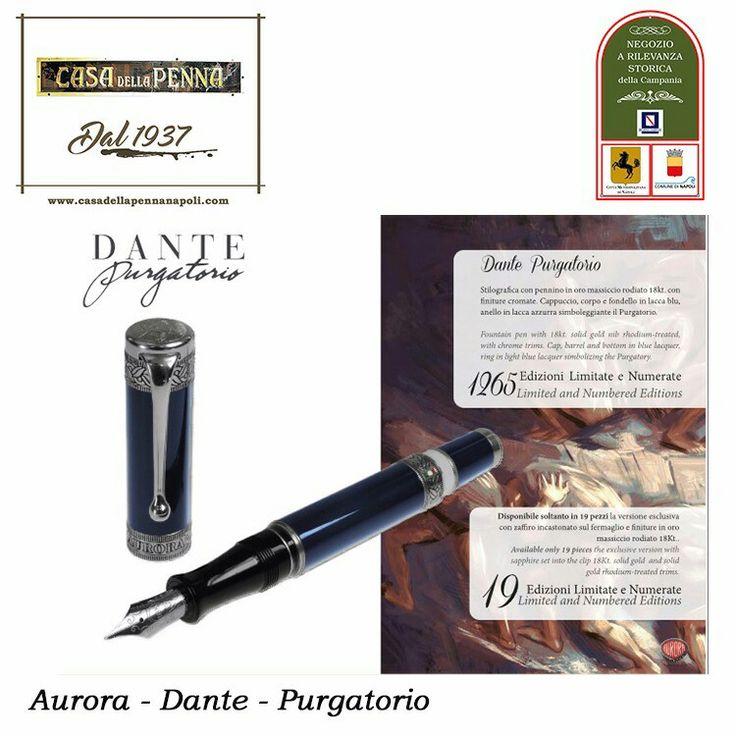 """L'Aurora presenta la penna stilografica """"Dante Purgatorio"""", proseguimento di un viaggio, iniziato con la penna """"Dante Inferno"""". #CasaDellaPenna1937 #NegozioaRilevanzaStoricaDellaCampania #80anni #Aurora #Purgatorio #DanteAlighieri #DivinaCommedia #pen #LimitataNumerata  https://www.casadellapennanapoli.com/divina-commedia-/358-dante-purgatorio-penna-stilografica-aurora-.html"""