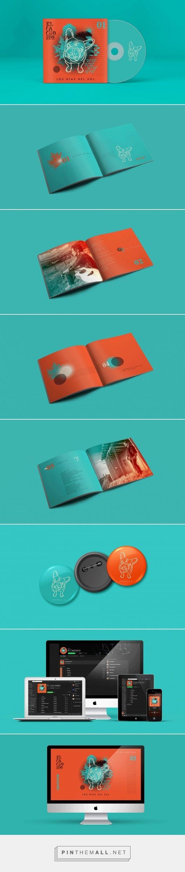 Diseño / identidad visual / música / color / editorial / booklet / CD
