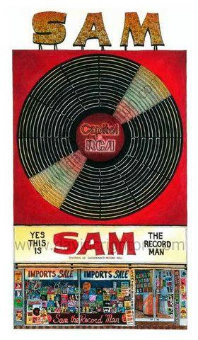 David Crighton - Sam The Record Man