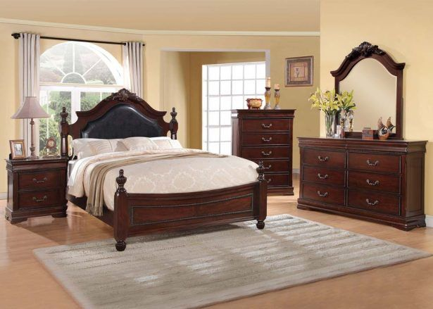 bedroombeautiful bedroom sets for sale gwyneth cherry black eastern king full size bedroom sets - Cheap Bedroom Furniture Sale Online