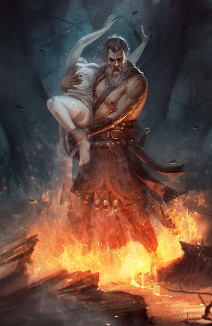 Hades and Persephone by Ashramart on DeviantArt