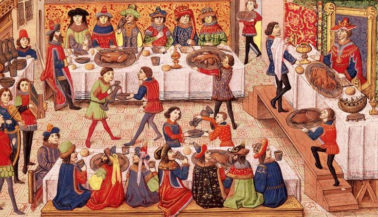 Christmas in the Middle Ages-Navidad en la Edad Media-Jul i middelalderen