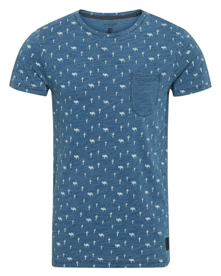 Anerkjendt Hudson T Shirt Blue.