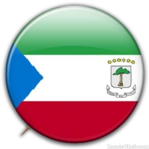Equatorial Guinea flag badge