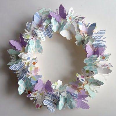 butterfly wreath - Google Search