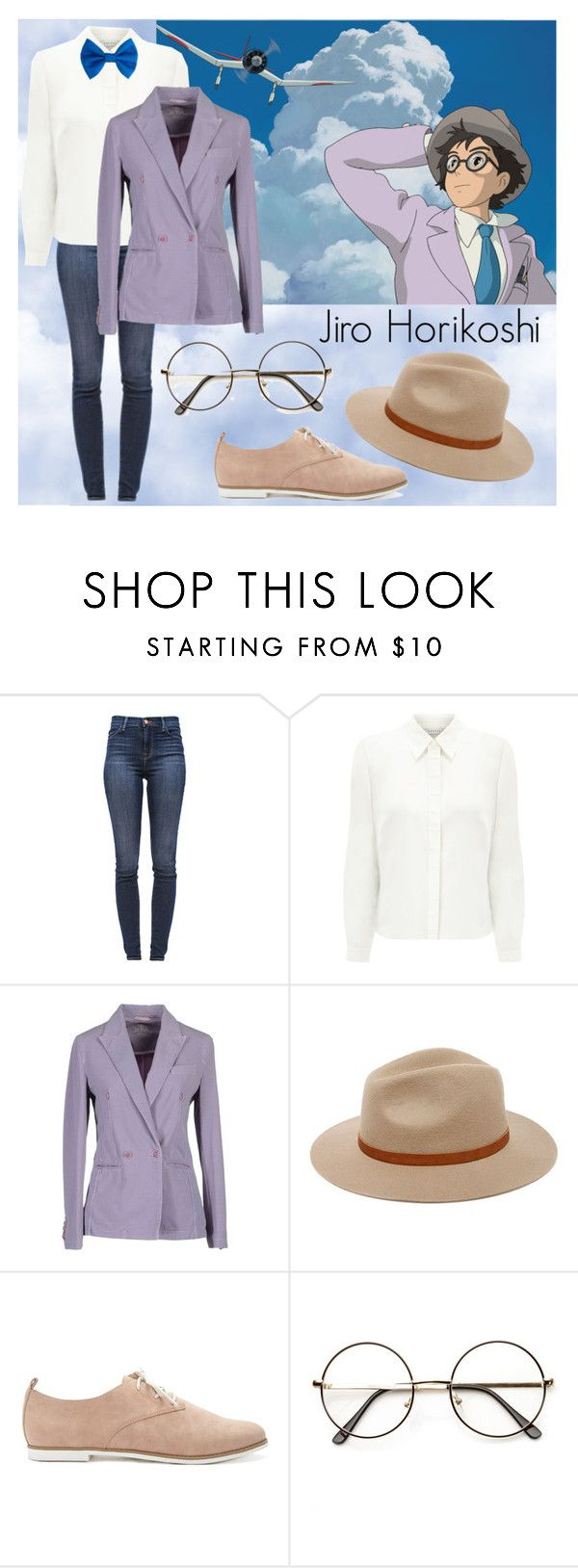 """Jiro Horikoshi - The Wind Rises"" by lottie554 ❤ liked on Polyvore featuring J Brand, Eastex, Be for Milano, Billabong, Forever 21, anime, StudioGhibli, characterset and TheWindRises"