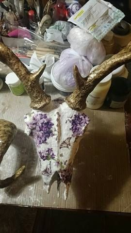 Deer Skull by ZografosCrosses on Etsy