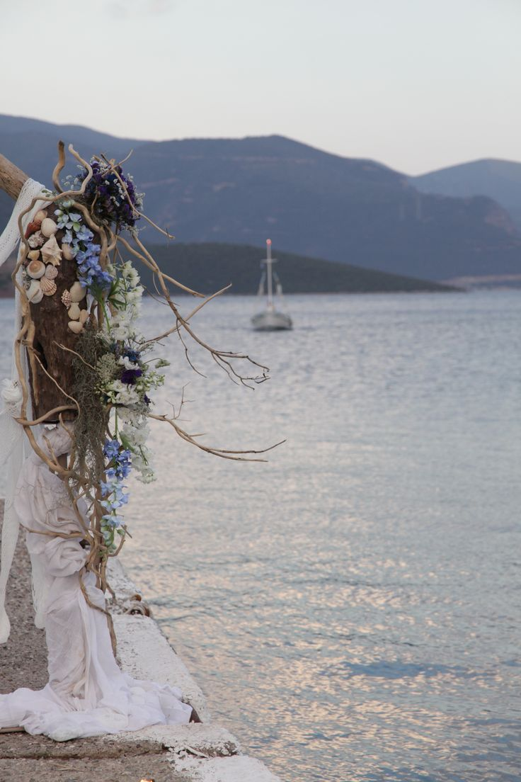 wedding in a Greek island!