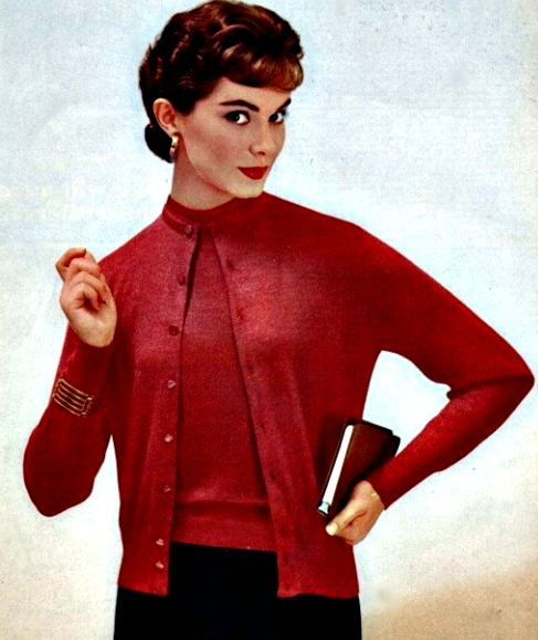 """♥ 1950's sweater sets  """"twinsets"""""""