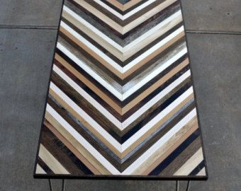 Abstract Painting on Wood  Reclaimed Wood Art Sculpture