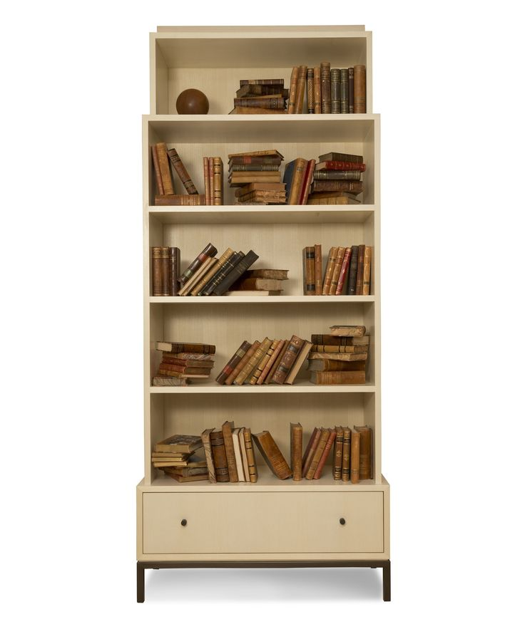 Buy Villa Tower II by Maxine Snider Inc. - Made-to-Order designer Furniture from Dering Hall's collection of Transitional Contemporary Mid-Century / Modern Traditional Bookcases & Étageres.