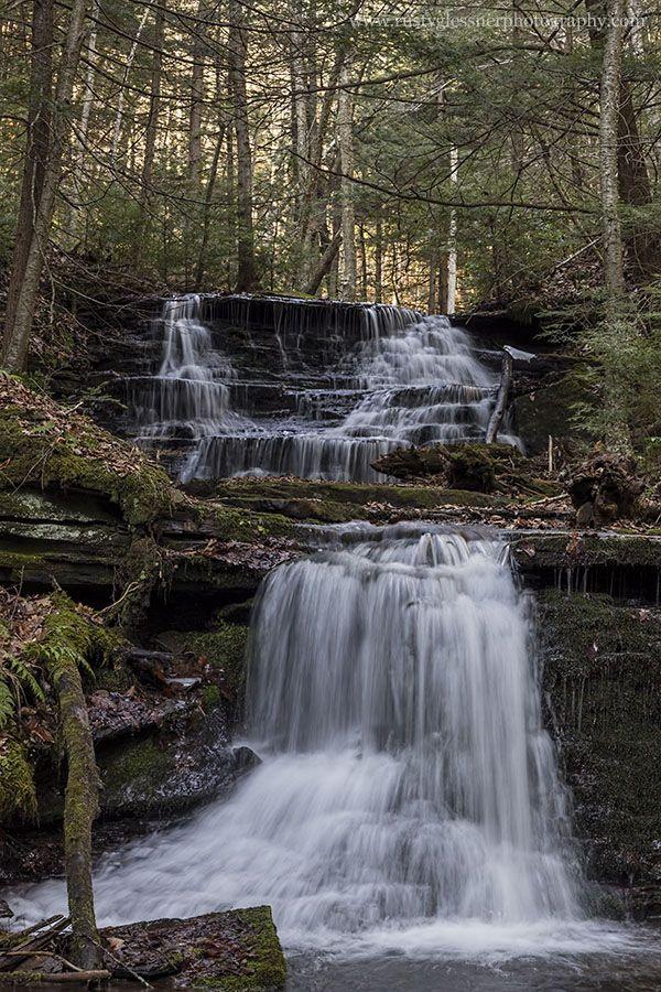 Grand Canyon Pa Directions%0A Waterfall along Bear Run  Tioga County  PA