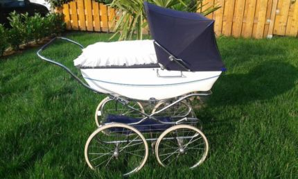 nostalgie kinderwagen silver cross tenby silver cross pinterest baby carriage and babies. Black Bedroom Furniture Sets. Home Design Ideas