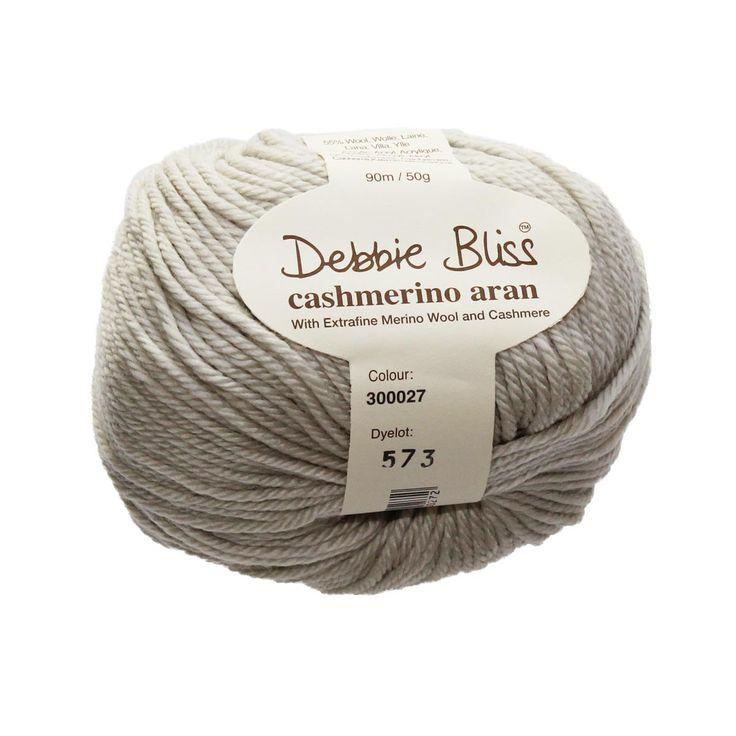 Debbie Bliss Yarn - Cashmerino Aran - #27 STONE - 10 ply, 50g / 90m by TuppysAussieYarns on Etsy https://www.etsy.com/listing/270451024/debbie-bliss-yarn-cashmerino-aran-27