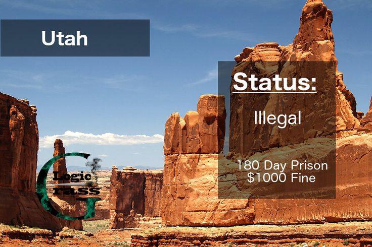 Check out the legal status of marijuana in Utah #marijuanalegalization #cannabiscommunity