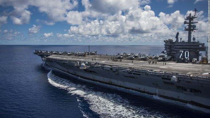 For the first time since the end of the Vietnam War more than four decades ago, a US Navy aircraft carrier will set anchor in the country Monday.