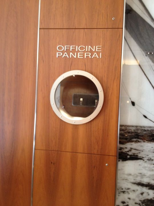 Officine Panerai Boutique NYC. I need to make a pilgrimage