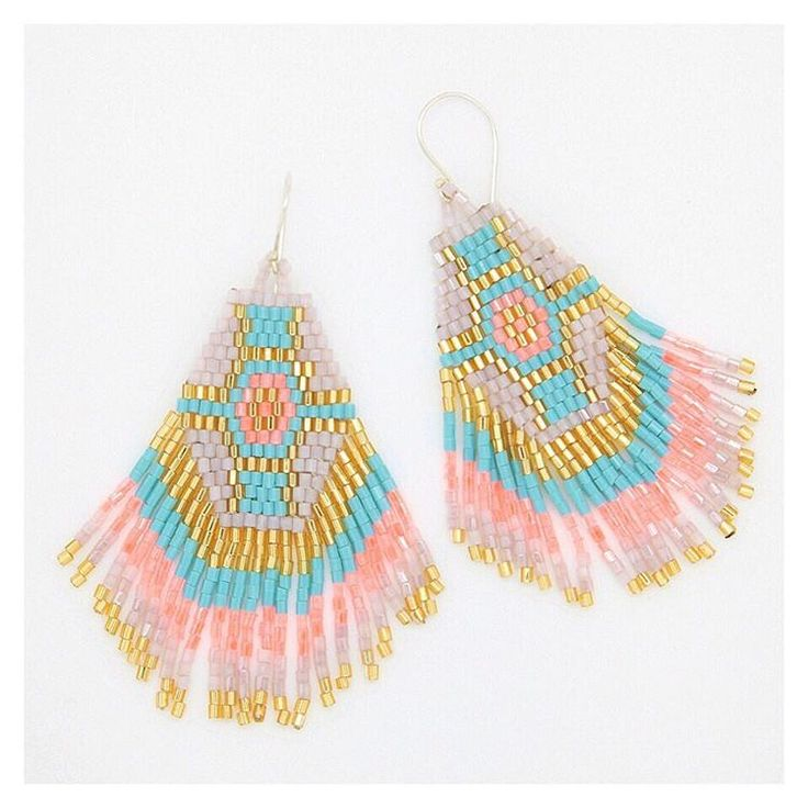Les BO Fidji en Rose pâle, corail et turquoise   #corail # turquoise #earrings #summerjewels #lilieandkoh #beautiful #wanderlust #happy #beach #sun #bijoux #jewel #stacks #holiday #fashion #wanderlust #vacances #bikini