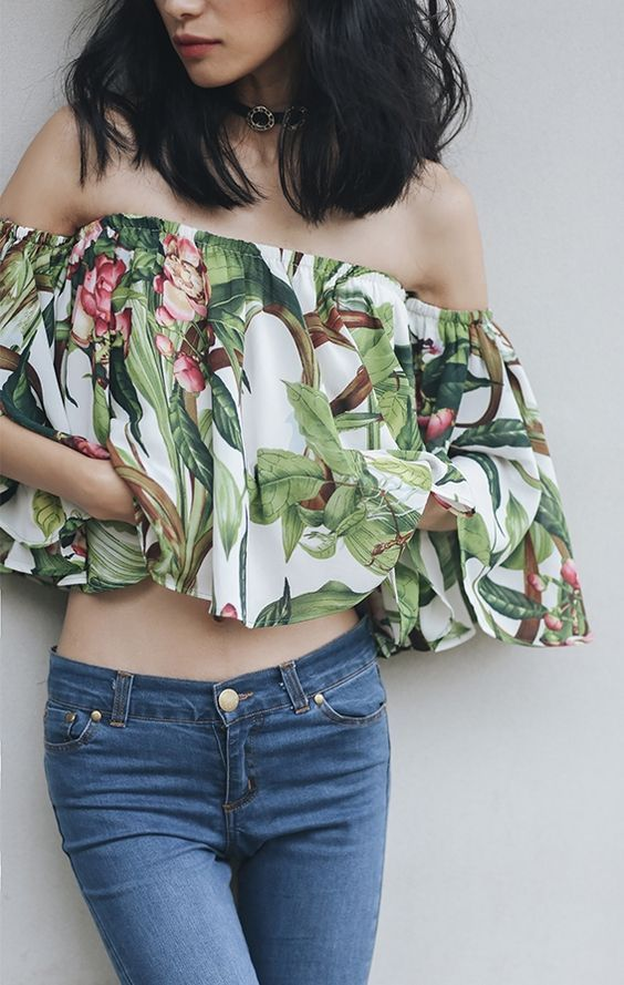 How to wear tropical prints 15 outfit ideas