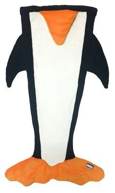 Penguin Blanket for Kids - perfect for snuggling inside on cold winter days!