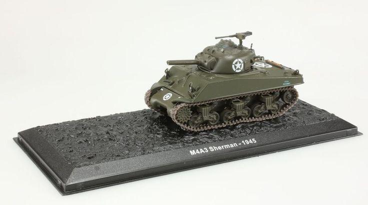 (V190) Miniature M4A3 Sherman 1945 1/72 char de combat