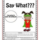This RI.1.7 First Grade Common Core Pack includes the following:*1 RI.1.7 Common Core Poster*2 RI.1.7 Common Core Worksheets*1 RI.1.7 Activity C...