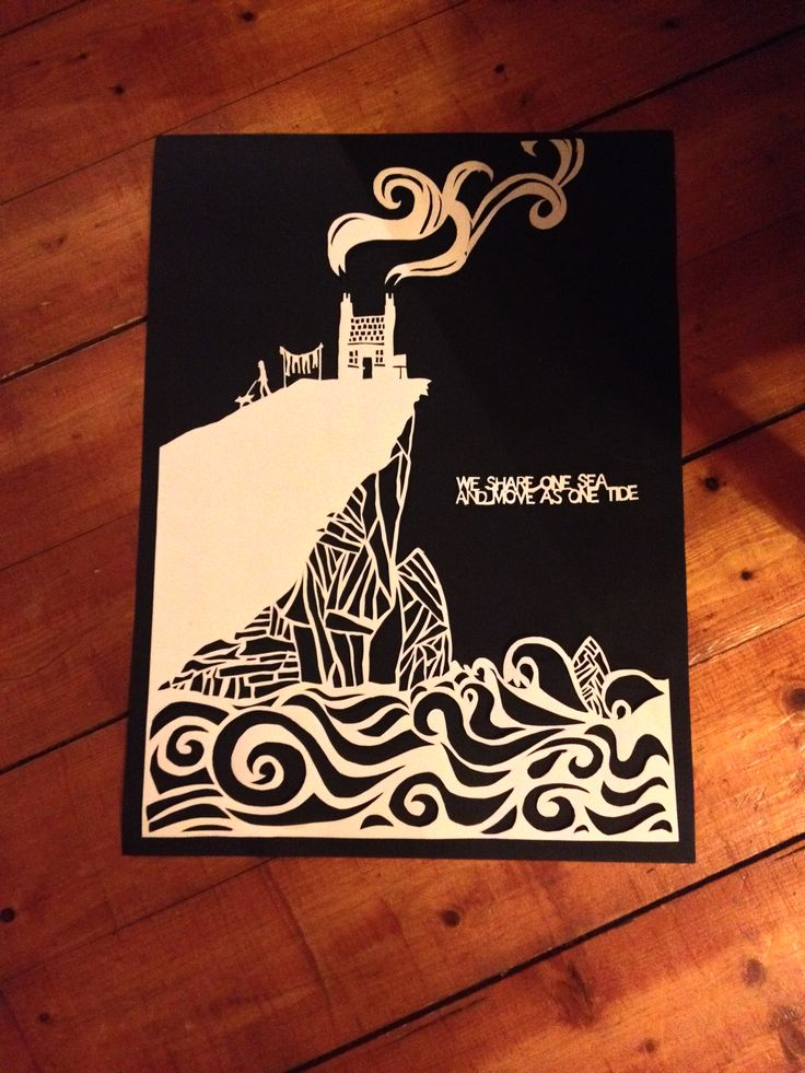 wee house, papercut