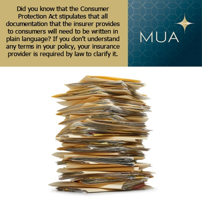 Consumer Protection Act and Insurance
