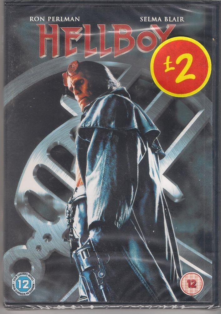 Hellboy (DVD, 2009), 2 disc set, Ron Perlman, Selma Blair