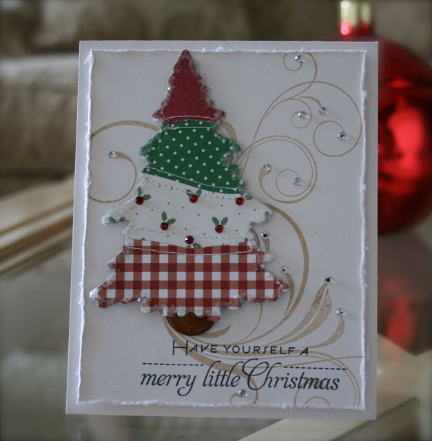 125 best christmas cards i make images on pinterest christmas have yourself a merry little christmas homemade cards solutioingenieria Images