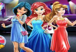 Juego Vestir a las Princesas Disney para el baile Gratis