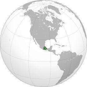 Localização de Império Asteca